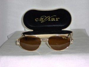 Brand New Caviar Gold Sunglasses: Mod. 6710 & Case