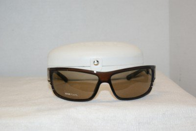 Brand New Diesel Brown Eyeglasses: Mod. 0041 & Case