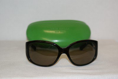 New Kate Spade Dark Tortoise Sunglasses Mod Heidi &Case