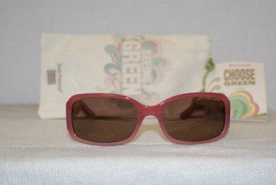 Brand New Juicy Couture Raspberry Pink Sunglasses: Mod. Fern (GA1P) 55-17 & Case