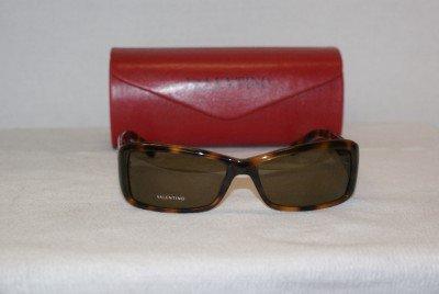 Brand New Valentino Havana Sunglasses: Mod. 5489 & Case