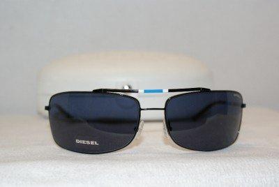 Brand New Diesel Black Sunglasses: Mod. 0016 & Case