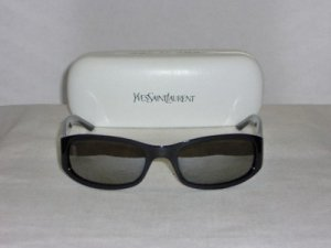 B. New Yves Saint Laurent Black Sunglasses: Mod. 2058