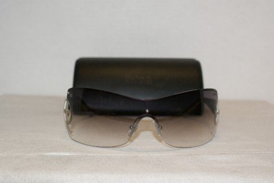 Brand New Hugo Boss Satin Palladium Sunglasses: Mod. 0164 (0VHP) & Case