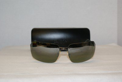 New Calvin Klein Gunmetal Sunglasses: Mod. 180S & Case