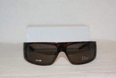 B. New Christian Dior Homme Tortoise Tie 65 Sunglasses: Mod. Black Tie 65 & Case