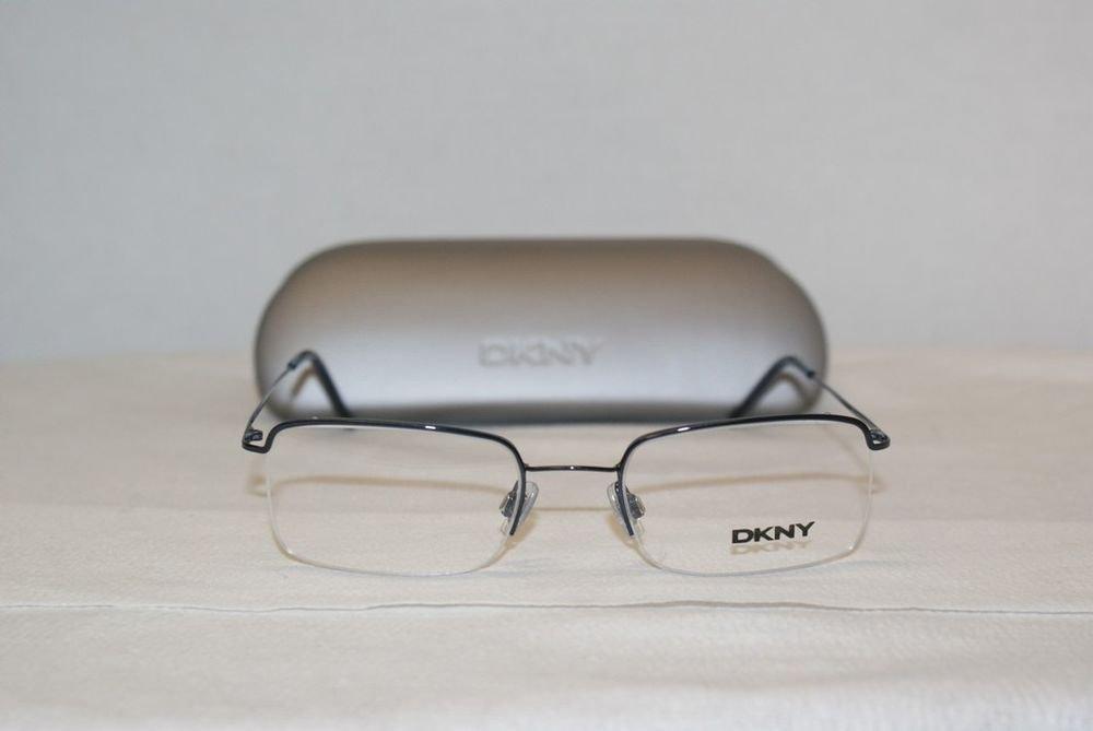 Brand New DKNY 6421 Shiny Blue 51-20 Eyeglasses: Mod. 6421 & Case