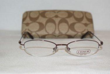 Brand New Coach Lily Bordeaux 48-17 Eyeglasses: Mod. Lily & Case