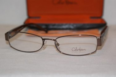 Brand New Cole Haan Eyeglass Mod. CH 944 Col. Brown 54-17-135 & Case