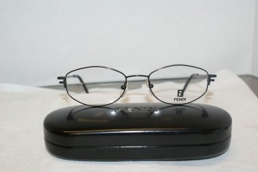 Brand New Fendi 556 Onyx 51-18 Eyeglasses: Mod. 556 & Case