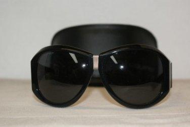 Brand New DSquared2 0037 Shiny Black Sunglasses: Mod. DQ 0037 (01A) & Case