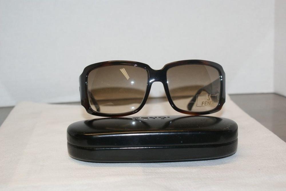 Brand New Fendi 456 238 Brown 60-16 Eyeglasses: Mod. FS 456 (238) & Case