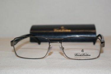 New Brooks Brothers 1011 Gunmetal 1507 Eyeglasses: Mod. BB 1011 55-17 & Case