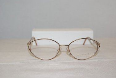 New Christian Dior 3525 Copper 55-16 Eyeglasses: Mod 3525 & Case