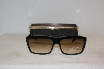 New Black Sunglasses Laura Biagiotti: Mod. 85395 (118) & Case
