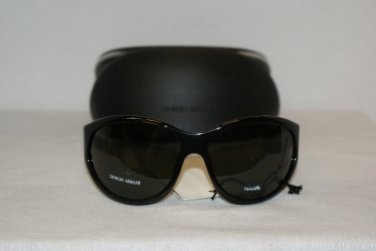 New Giorgio Armani 208 Black Sunglasses: Mod. 208 & Case