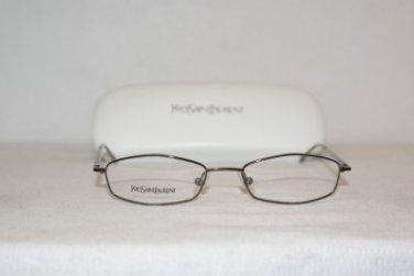New Yves Saint Laurent Brown Eyeglasses: Mod. 6014 8XO & Case