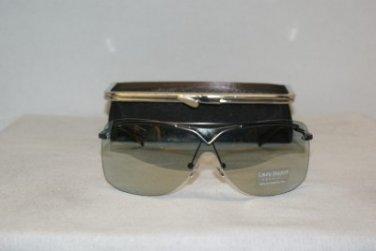 New Laura Biagiotti Sunglasses: Mod. 85362 Dark Grey Gray (791) & Case