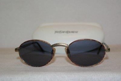 New Yves Saint Laurent 6020 Gold Y246 Eyeglasses: Mod. 6020 52-19 & Case