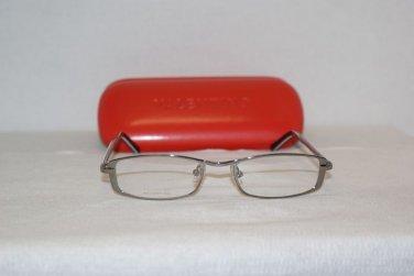 New Valentino 5255 Shiny Silver 50-17 Eyeglasses: Mod. 5255 (007L) & Case