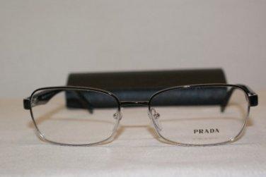 Brand New Prada VPR62O Black GAQ-1O1 Eyeglasses: Mod. VPR 62O 55-17 & Case
