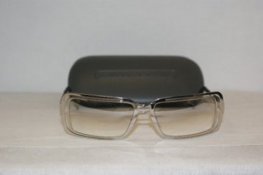 Brand New Moschino 3182 Shiny Silver Sunglasses: Mod. 3182-S (518/6I) & GB Case