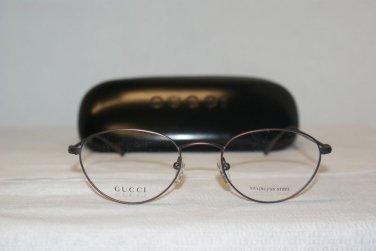 Brand New Gucci 2630 Violet Brown 51-20 Eyeglasses: Mod. 2630 & Case