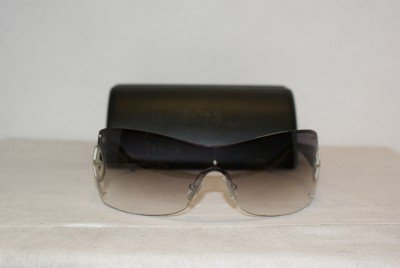 Brand New Hugo Boss 0164 Satin Palladium Sunglasses: Mod. 0164 (0VHP) & Case