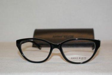 B. New Anne Klein AK 8109 Shiny Black 147 Eyeglasses: Mod. 8109 52-16 & Case