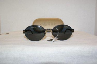B. New Caviar Ultra 7370 Black Sunglasses: Mod. 7370 & Case