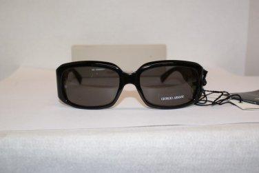 Brand New Giorgio Armani 432 Black Sunglasses: Mod. 432 & Case