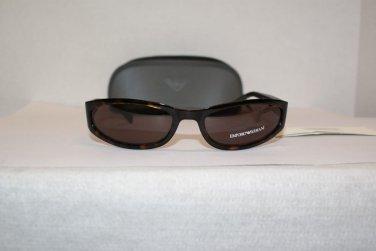 Brand New Emporio Armani 9034 Olive Amber Sunglasses: Mod. 9034 & Case