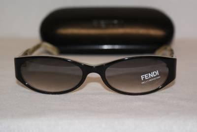 Brand New Fendi Sunglass Mod. 295 Col. Black (001)  50-16-135 & Case