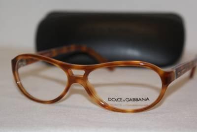 New Dolce & Gabbana Eyeglass Mod. 3047 Col.Tortoise (512) 53-13-140 & Case