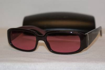 New Calvin Klein Sunglass Mod. 685 Col. Purple (147) Size 54-16-135 & Case