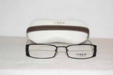 Brand New Vogue 3577 Matte Black 50-18 Eyeglasses: Mod. 3577 (352S) & Case