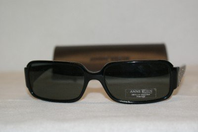 New Anne Klein 3104 Black (201/01) Eyeglasses: Mod. 3104 57-16 & Case