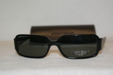 New Anne Klein 3104 Black (201/01) Eyeglasses: Mod. 3104 57-16 & Case