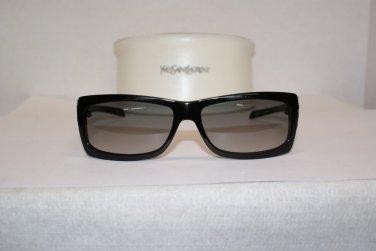 Brand New Yves Saint Laurent 6058 Black Sunglasses: Mod. 6058 & Case