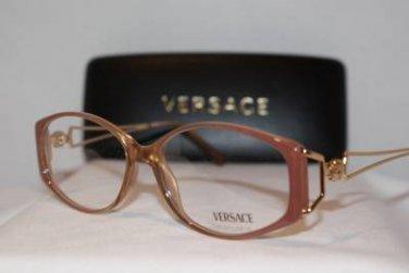 Brand New VERSACE Eyeglass Mod. V79 Col.G51 54-14-130 & Case