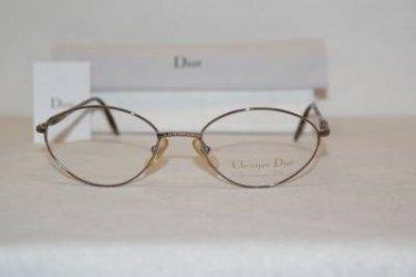 Brand New Christian Dior Eyeglass Mod. 3562 Col. W2E  53-19-135 & Case