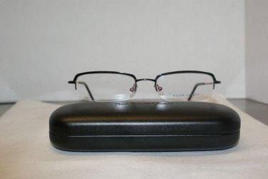 Brand New Ralph Lauren 1436 Black 52-18 Eyeglasses: Mod. 1436 & Case