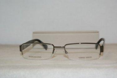 New Giorgio Armani 711 Shiny Brown 54-18 Eyeglasses: Mod. 711 (0A40) & Case