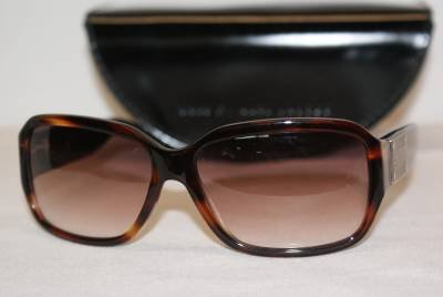 New Marc By Marc Jacobs Mod. 075 Col.Tortoise/Black (NRQ) 60-15-135 & Case