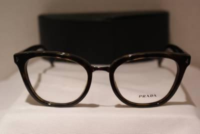 Brand New PRADA Eyeglass Mod. VPR 06P Col. 2AU-1O1 52-18-140 & Case