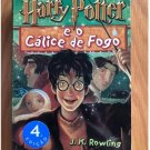 Harry Potter and the Goblet of Fire by J. K. Rowling in Portuguese