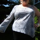 Very special one-sleeve stretchy shirt - 3X
