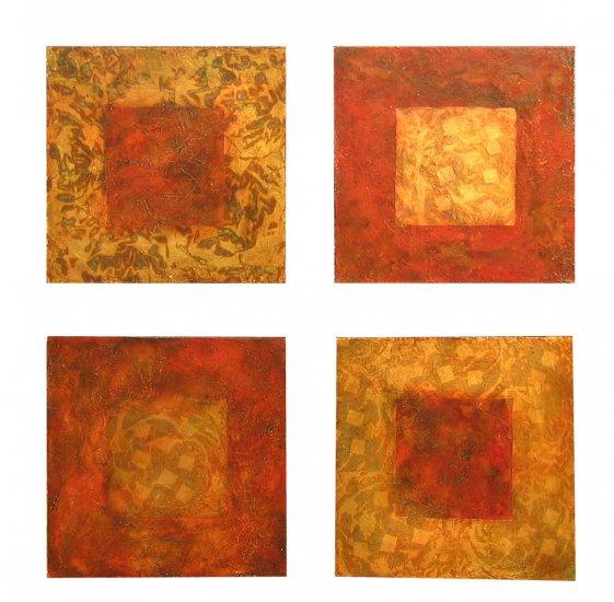 Sepia Zen Squares