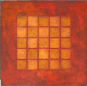 small 5 x 5 - red