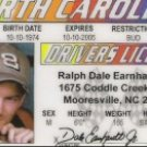 DALE EARNHARDT JR. DRIVERS LICENSE
